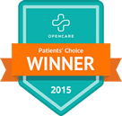 Patients' Choice WINNER 2015